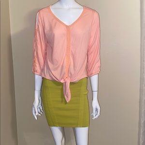 French Laundry blouse size M